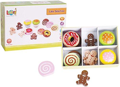 Lelin Toys - 30623 - Jeu D'imitation - Cuisine - Cakes De Luxe