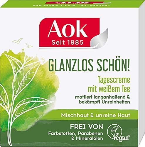 Aok Mattierende Tagespflege mit weißem Tee Vegan 50 ml