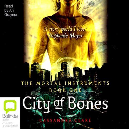 City of Bones                   By:                                                                                                                                 Cassandra Clare                               Narrated by:                                                                                                                                 Ari Graynor                      Length: 14 hrs and 12 mins     221 ratings     Overall 4.3