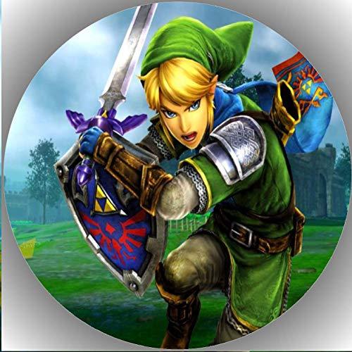 Premium Esspapier Tortenaufleger Tortenbild Geburtstag Die Legende von Zelda K8
