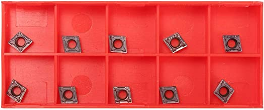 AtFipan 10Pcs CCMT060204 US735 CCMT21.51 CNC Carbide Inserts For Steel//Stainless Steel