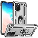 NALIA Ring Cover compatible with Samsung Galaxy S10 Lite
