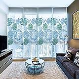 Pellicola per Vetri Colorati Glasaufkleber Badezimmer Badezimmer Elektro Glasfolie Balkon Milchglasfolie Undurchsichtiger Sonnenschutz Fensteraufkleber-70 * 200Cm