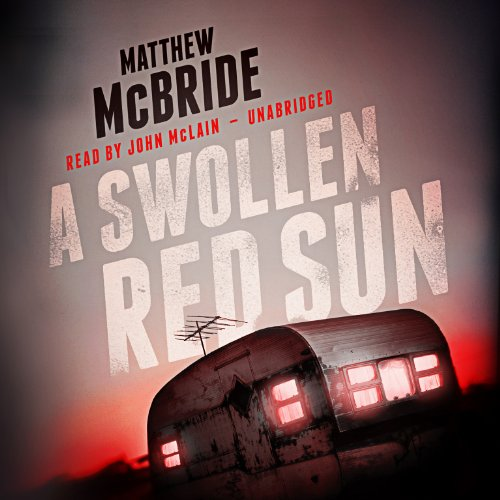 A Swollen Red Sun audiobook cover art