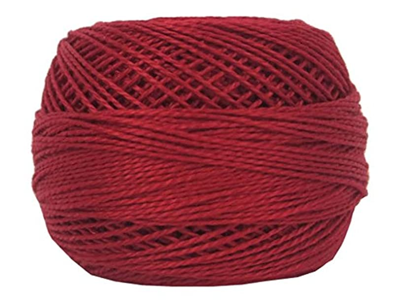 Bulk Buy: DMC Thread Pearl Cotton Balls Size 8 95 Yards Red 116 8-321 (10-Pack)