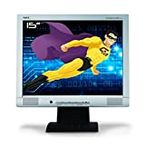 NEC - Schermo PC Pro 15' AccuSync ASLCD52VM-BK LCD TFT VGA 1024 x 768 75 Hz, inclinabile