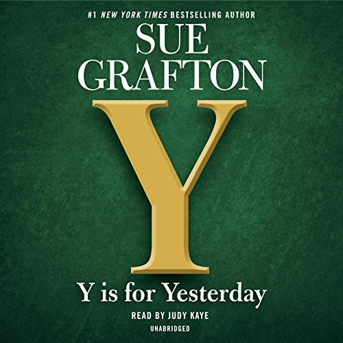 Y is for Yesterday cover art