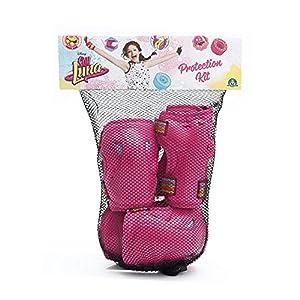 Giochi Preziosi YLU02111 - Set protección Soy Luna, talla S/M/L, color rosa , color/modelo surtido