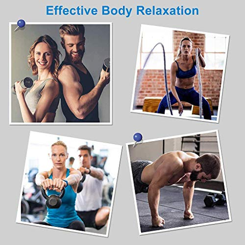 Massage Gun for Athletes, Powerful 5 Speed Deep Tissue Percussion JoinBuy.R Massager for Body, Silent Electric Handheld Fascia Tissue Massage for Sports (Silver)
