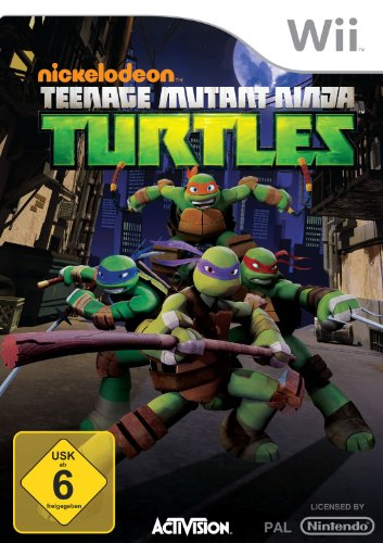 Teenage Mutant Ninja Turtles - [Nintendo Wii]
