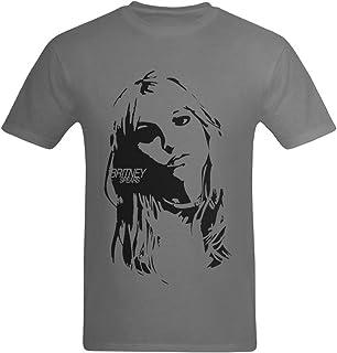 youranli Britney Spears imagen impresa del hombre moda camiseta