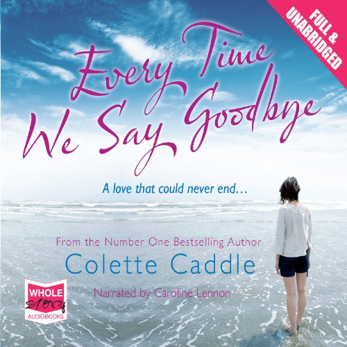 Every Time We Say Goodbye audiobook cover art