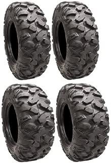Full set of STI Roctane XD Radial (8ply) 27x9R-14 and 27x11R-14 ATV Tires (4)
