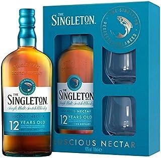 Singleton 12 Jahre, Geschenkpackung mit 2 GläsernSingle Malt Whisky 1 x 0.7 l
