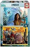 Educa 18882 Disney Raya y el Último Dragón. Set de 2 Puzzles de 48 Piezas. A Partir de 4 años, Multicolor