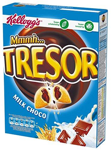 Kellogg's Tresor Milk Choco, 4er Pack (4 x 375 g)