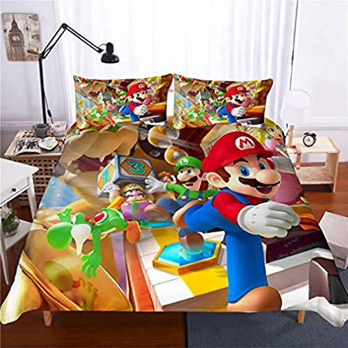 YZHY Anime Super Mario - Funda de...
