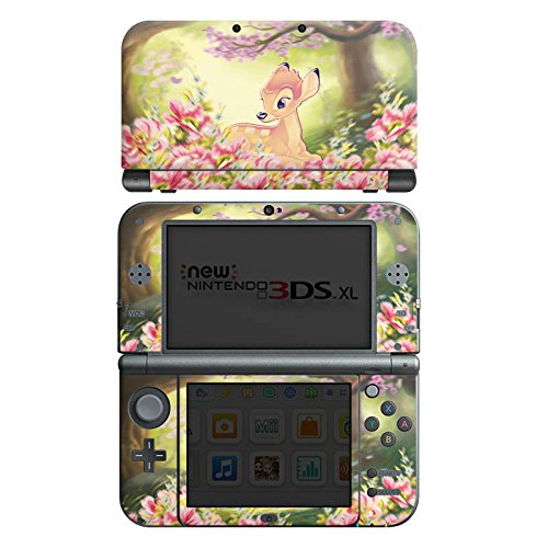 DeinDesign Skin kompatibel mit Nintendo New 3DS XL Folie Sticker Offizielles Lizenzprodukt Bambi Disney