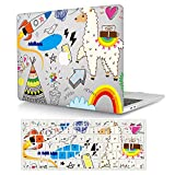 AJYX Funda MacBook Pro 13 2012/2011/2010/2009/2008 con CD-ROM Modelo A1278, Plástico Dura Carcasa y Cubierta del Teclado EU para MacBook Pro 13 Pulgadas - Dibujos Animados