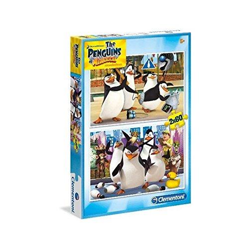 Puzzle di I Pinguini di Madagascar 2x60pz