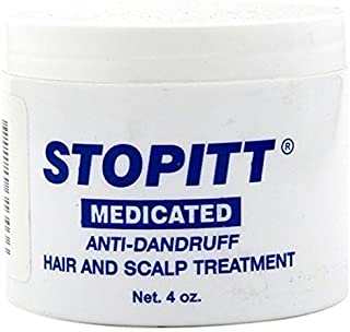 Stopitt Medicated Anti-Dandruff Hair & Scalp Treatment, 4 Ounce