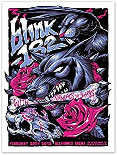Tiktok Life Blink 182 Poster 12 x inch