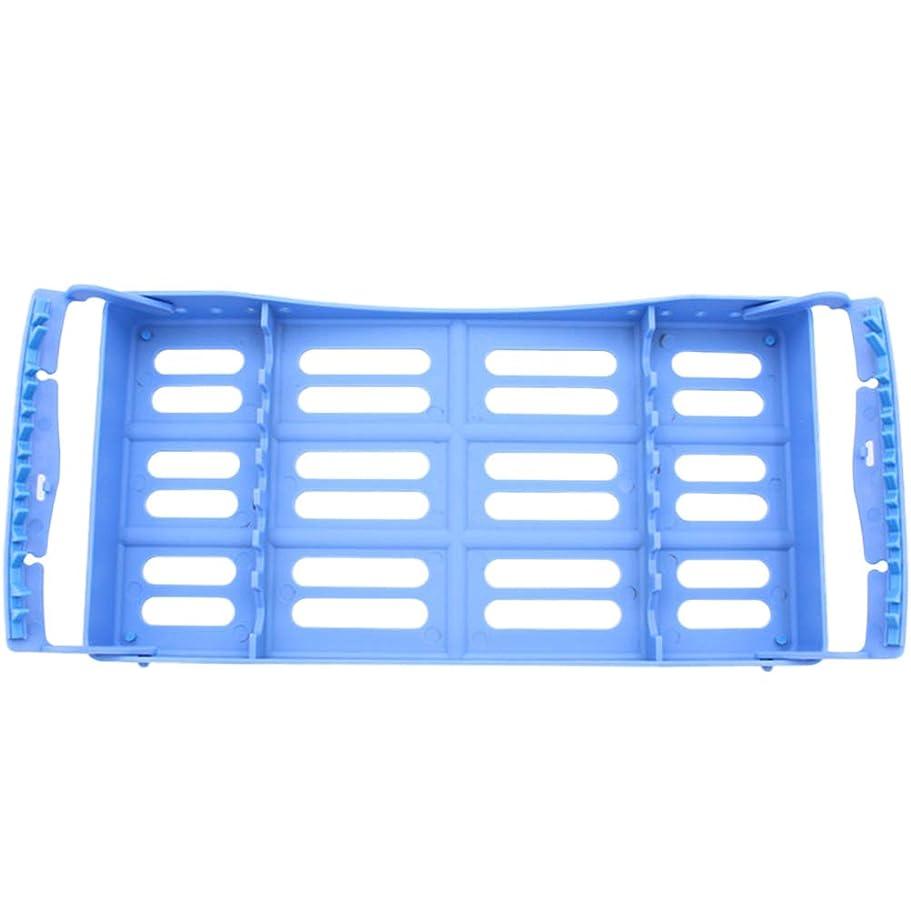 満了ブロックカウンタArtibetter 7つの用具の貯蔵のための歯科殺菌カセット外科殺菌箱の消毒の皿