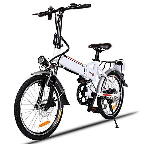 Speedrid Bicicleta eléctrica Plegable Adultos, Bicicleta el