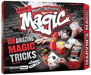 Marvin's Magic 100 Mind Blowing Tricks MMB 5703/E Magic Tricks Toy