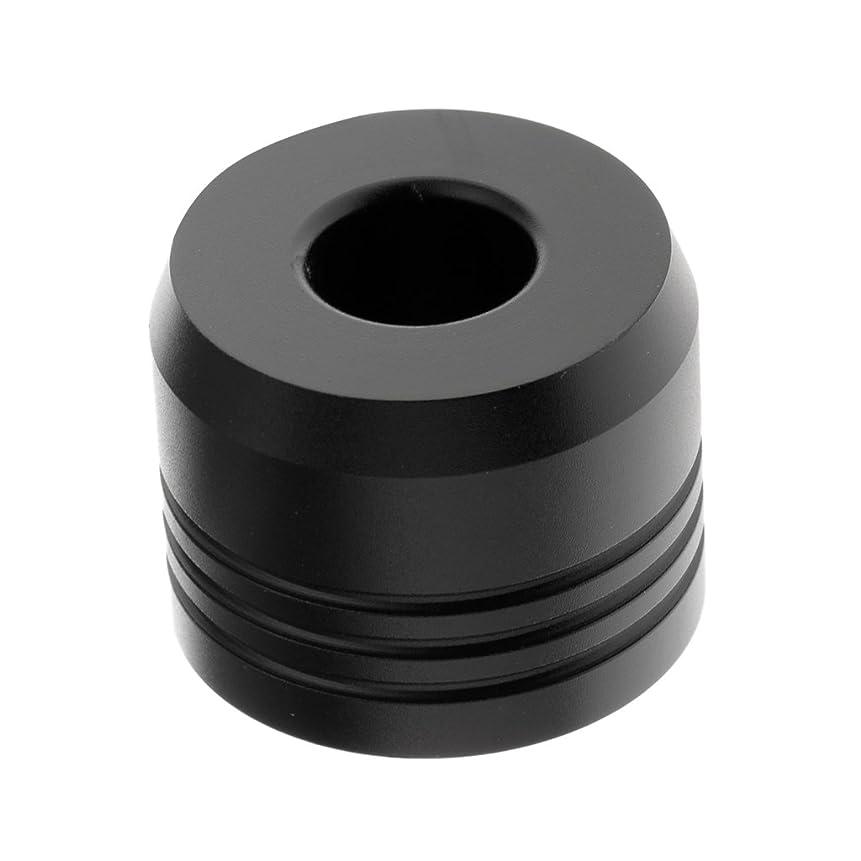 オフェンスバスかるBaosity カミソリスタンド スタンド シェービング カミソリホルダー ベース サポート 調節可 乾燥 高品質 2色選べ   - ブラック