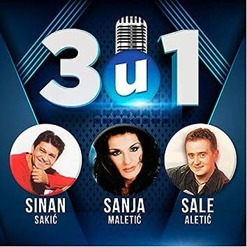 3 u 1 Sinan Sakic, Sale Aletic, Sanja Maletic