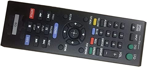 Easy Replacement Remote Control Fit for Sony BDP-S480 BDP-S580 BDP-S5100 Blu-ray BD DVD Player
