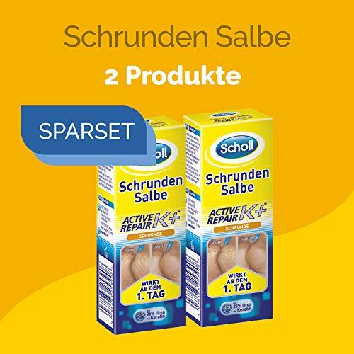 Scholl Schrunden Salbe Aktive Repair 120ml (2 x 60ml)