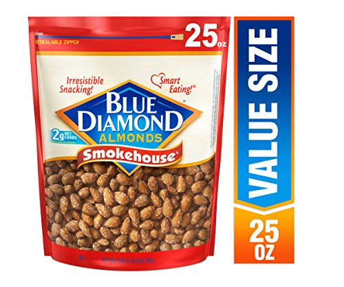 Blue Diamond Almonds, Smokehouse, 25 Ounce