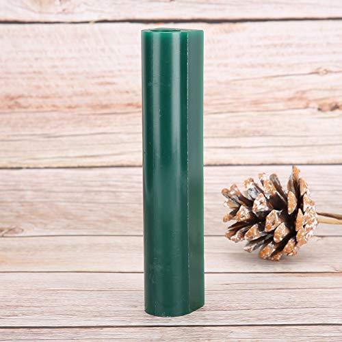 1Pcs Schmuck Wachs Tube, grün Hartwachs Ring Tube Ring Form Wachs Tube, Männer Wachs Tube für Schmuckhersteller Schmuckreparatur Arbeiter Juwelier(Women's green wax tube)