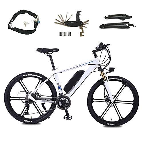 YAMMY Elektrofahrräder, Herren Mountainbike Fahrrad aus Aluminiumlegierung All Terrain, 26