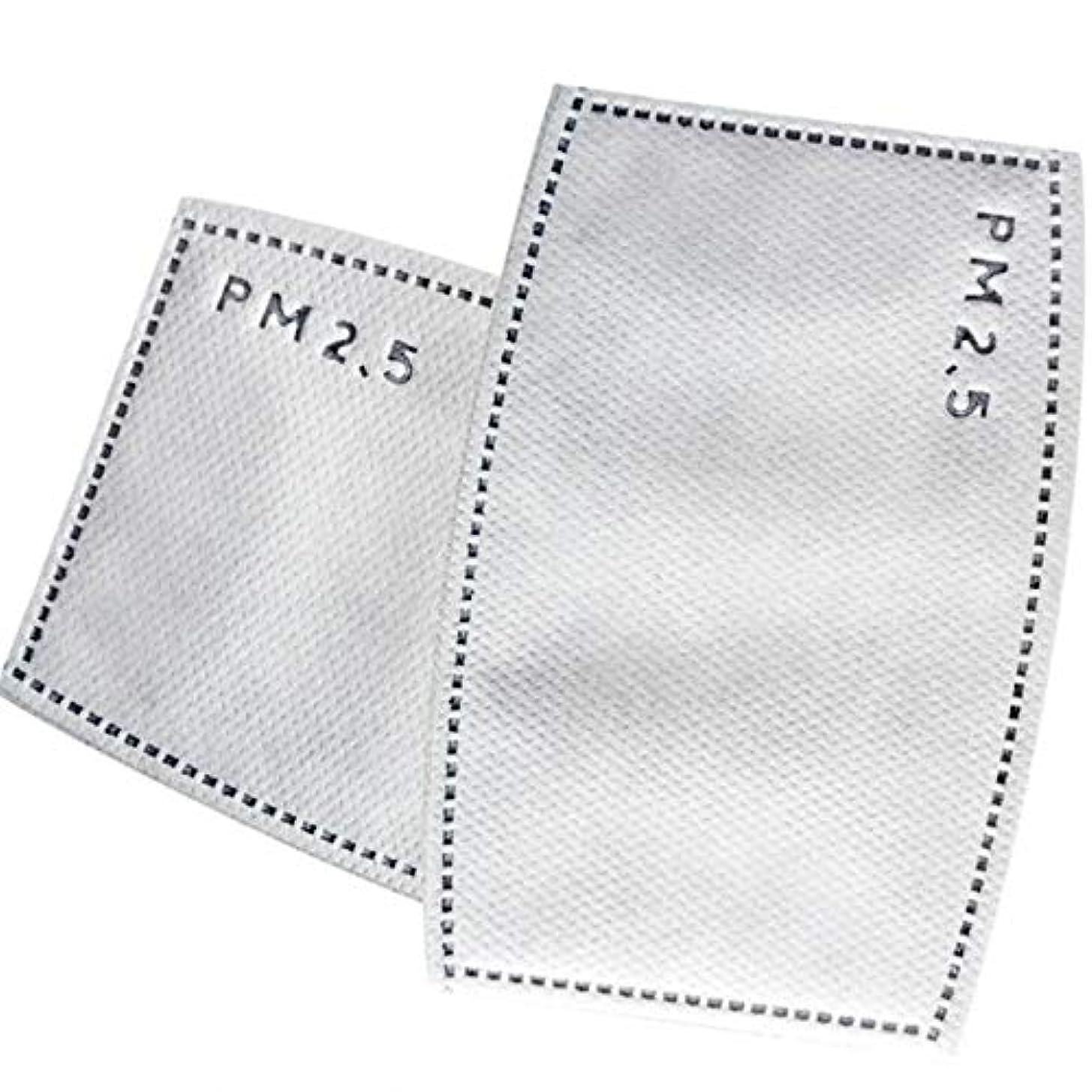 委員会強化熟したLixiuqun home 50袋5層活性炭フィルターN95効率的なろ過PM2.5アンチヘイズ口マスク交換可能フィルター用口マッフル (色 : Adults)