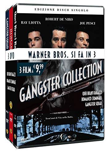 Trilogia Gangster Collection Quei Bravi Ragazzi/Romanzo Criminale/Ganster Squad