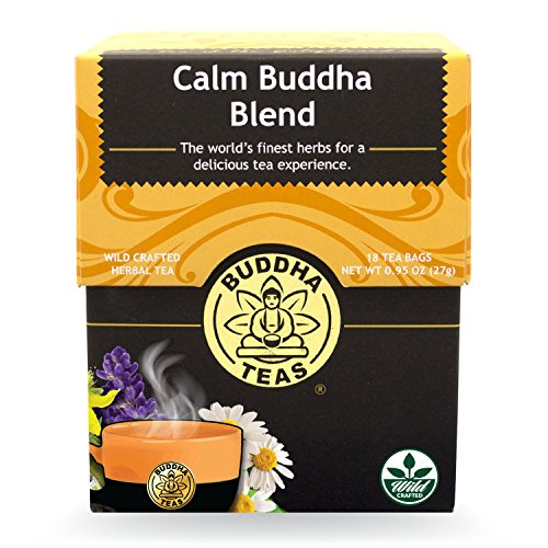 Buddha Teas Calm Buddha Blend, 18 Count (Pack of 6)