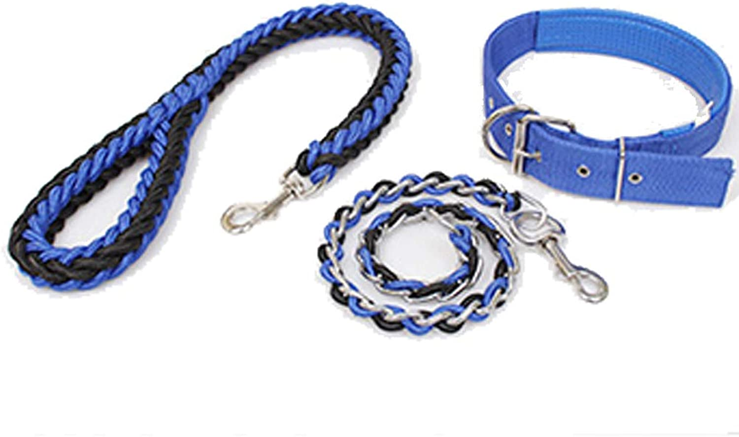 Dog Chain Pet Supplies MultiFunction Dog Leash Rope Pet Rope Braided Chain Tie Leash Dog Adjustable Dog Strap