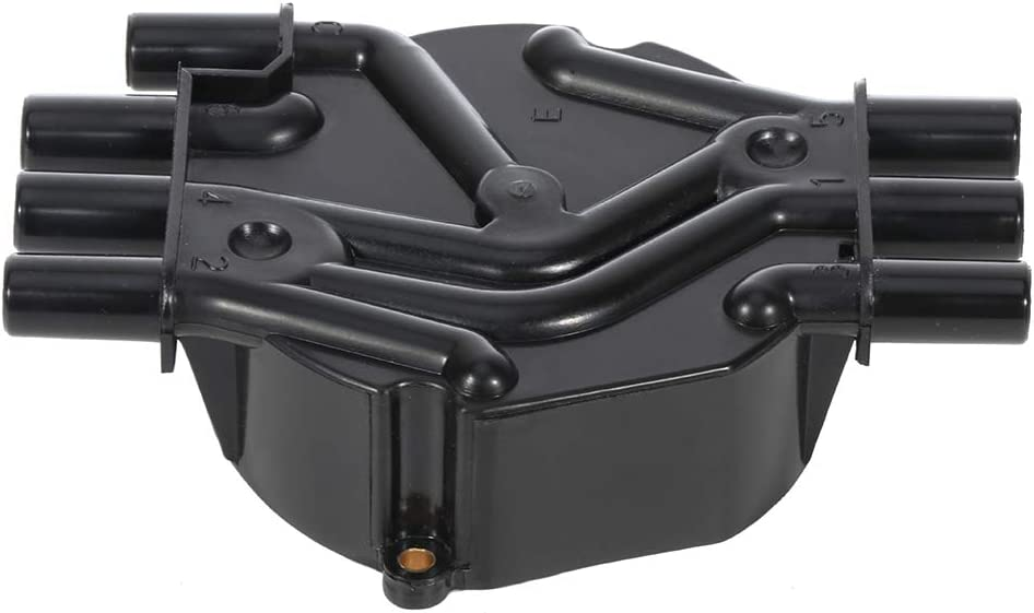 QUALINSIST Ignition Distributor Cap and Rotor fit for Chev-y G-M