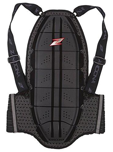 Zandonà Shield Evo X7 Rückenprotektor Altezza 168/177cm, Giro Vita 70-77cm Schwarz