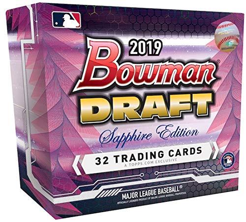 2019 Bowman Draft MLB Baseball SAPPHIRE EDITION box (32 cards)