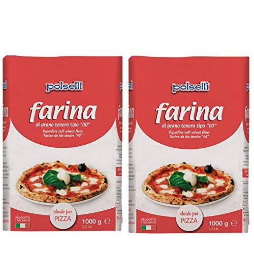 2 PACK 00 Pizza Flour