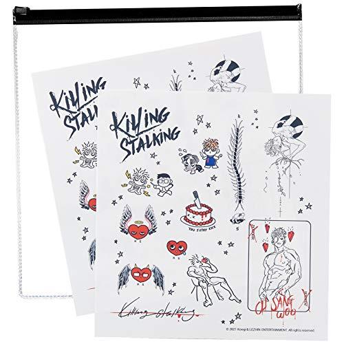[LEZHIN] [Killing Stalking] Temporary Tattoo Stickers...