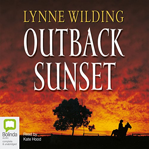 Outback Sunset audiobook cover art