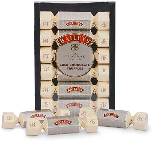 Sarunds Baileys Melk Chocolade Truffel Kerst Cracker 6 Pack, Crème 135g