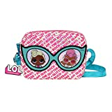 L.O.L. Surprise! Girls Small Belt Bag Purse with Adjustable, Pink, Size No Size