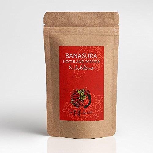 Banasura Hochland Pfeffer - 70g Spätlese Gourmetpfeffer - große, aromatische Pfefferbeeren