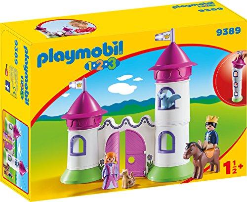 Playmobil 9389 - Schlösschen mit Stapelturm Spiel